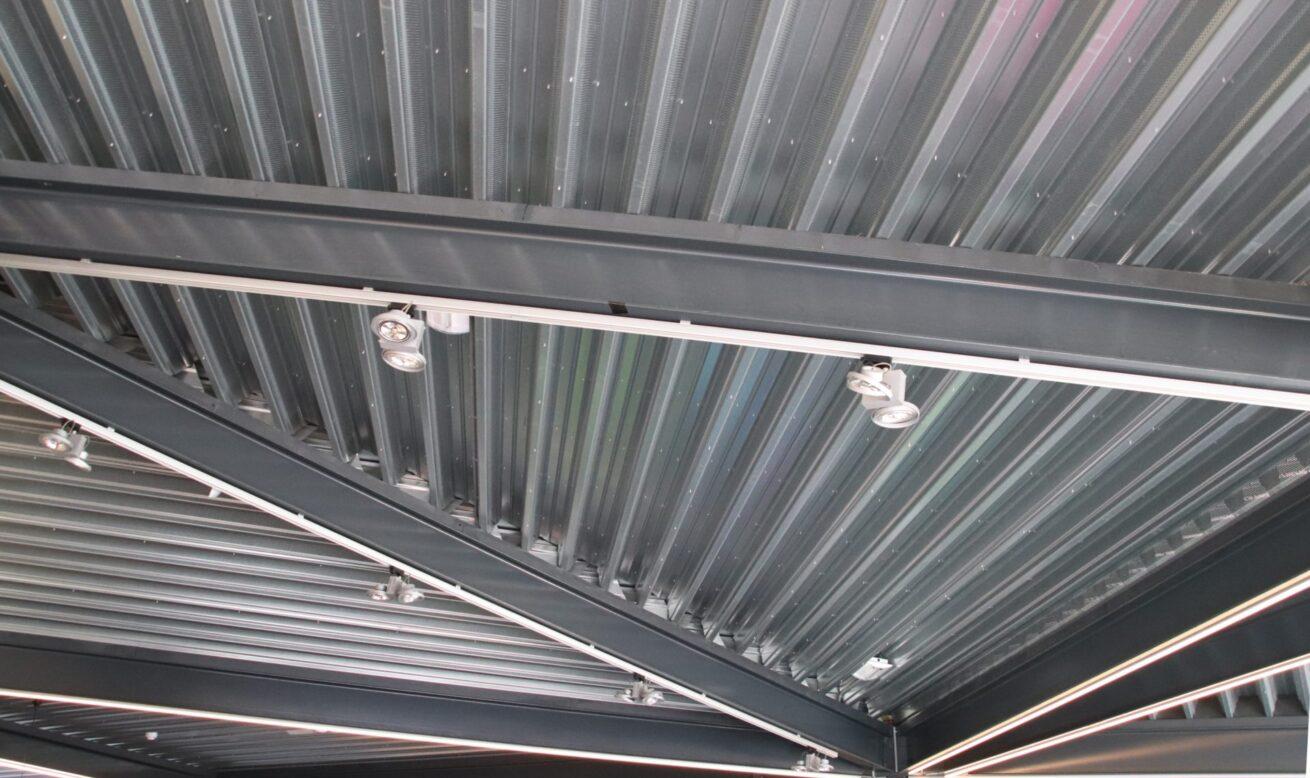 Kulturhus Dinxperlo - dakconstructie binnen
